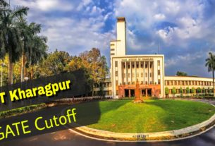 GATE cutoff for IIT Kharagpur MTech