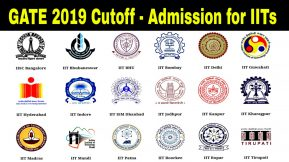 GATE 2019 cutoff & Admission for IITs