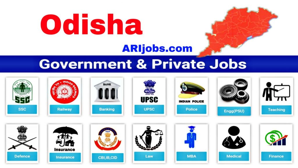 Govt Jobs in Odisha: Latest Odisha Govt Jobs