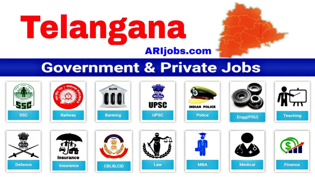 Telangana Govt Jobs: Latest Govt Jobs in Telangana
