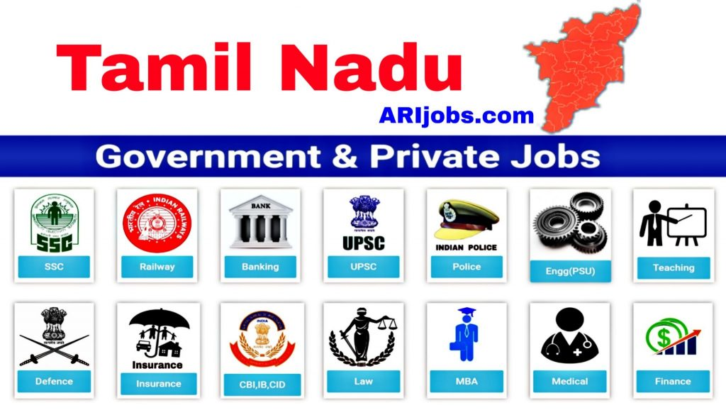 TN Govt Jobs: Latest Tamilnadu Government Jobs | Tamilnadu Jobs