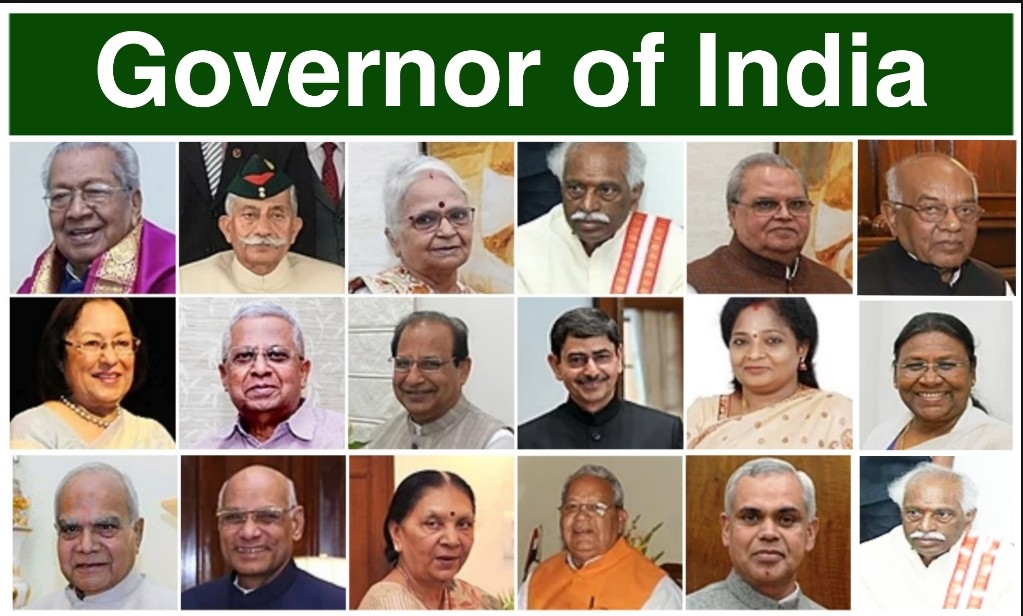 List of Governor of India Name of all State