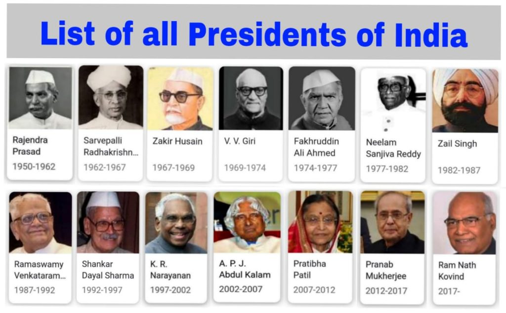 list of all the presidents in order