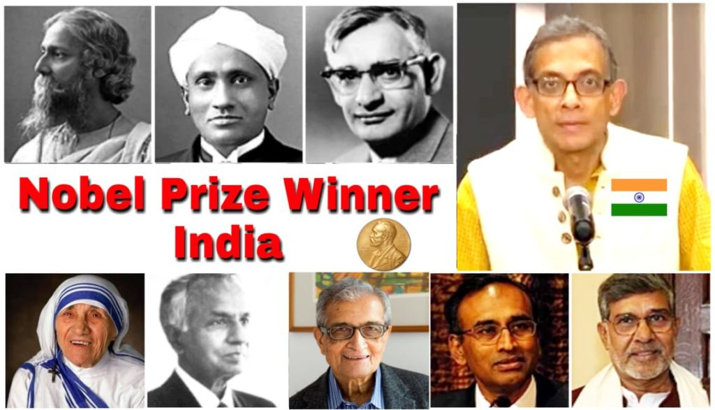 Nobel Prize Winners in India image